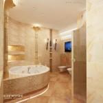 Ванна в египетском стиле