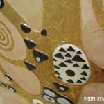 Декоративное панно с сусальным золотом