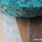 Мраморная мозаика с позолотой