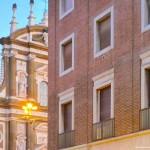 Вид исторического фасада