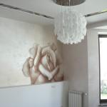 "Декоративное панно на стене ""Роза"""