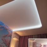 Потолок со скрытой подсветкой