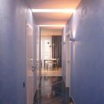 Идея оформления узкого коридора